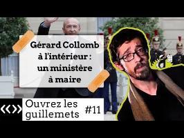 Gérard Collomb à l'intérieur: un ministère à maire, par Usul