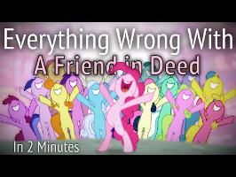 (Parody) Everything Wrong With A Friend in Deed in 2 Minutes