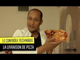 Contrôle technique des livraisons de pizza