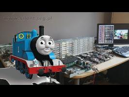 The Floppotron: Thomas the Tank Engine