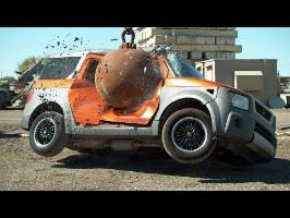4 Ton Wrecking Ball in Slow Motion - The Slow Mo Guys
