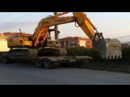 Excavator Powered Truck