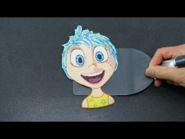 Pancake Art - Joy | Inside Out (Alegría | Del Revés) by Tiger Tomato