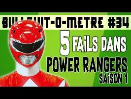 5 FAILS DANS POWER RANGERS SAISON 1 - BOM #34