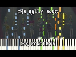 MLP:EQG -CHS Rally Song for Synthesia