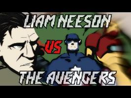 Liam Neeson VS The Avengers - animation