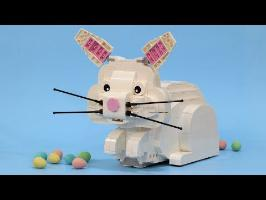 Chocolate Egg Pooping LEGO Bunny