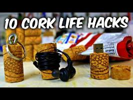 10 Simple Wine Cork Life Hacks
