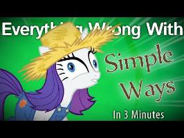 (Parody) Everything Wrong With Simple Ways in 3 Minute
