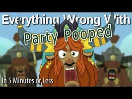 (Parody) Everything Wrong With Party Pooped in 5 Minutes or Less