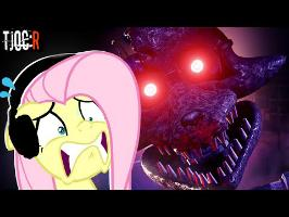 Vanna as Fluttershy plays The Joy of Creation: Reborn #2 | I BROKE CHARACTER D: