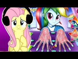 Fluttershy Plays Weird Pony Games | The Madness CONTINUES. | Part 3
