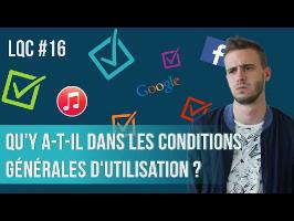 Qu'y a-t-il dans les conditions générales d'utilisation (CGU) ? LQC #16