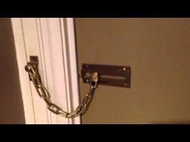 Hotel Door Chain FAIL