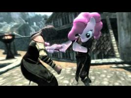 Pinkie Pie in Skyrim - Smile