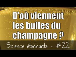 D'où viennent les bulles du champagne ? — Science étonnante #22
