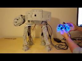 Remote controlled AT-AT Walker via Arduino Uno and Xbox 360 Controller
