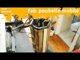 fabrication d'une poubelle à roulette à base d'osb et de bois de palette - miniEpisode