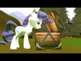 Cursed Pony Magic: Rarity