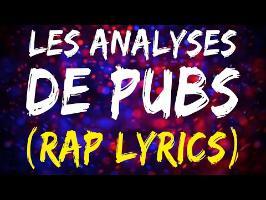 [Bonus] LES ANALYSES DE PUBS (Clip / Paroles / Lien MP3