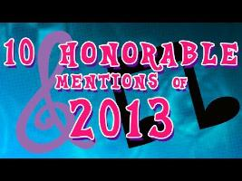 10 Honorable Mentions of 2013