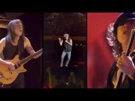 AC/DC - Les cornichons Live [MASHUP]