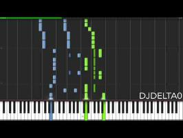 Awesome as I Wanna Be - Piano Transcription by DJDelta0 (9000 subscribers special!)