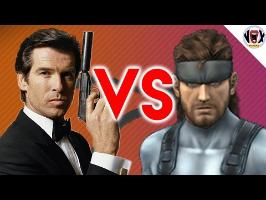 Solid Snake VS James Bond - Extreme Pixel Battle [XPB01]