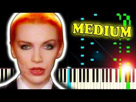 EURYTHMICS - SWEET DREAMS (Are Made Of This) - Piano Tutorial