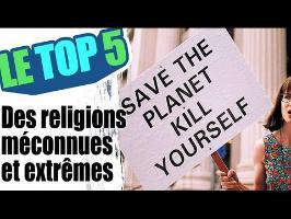 le top 5 des religions méconnues et extrêmes