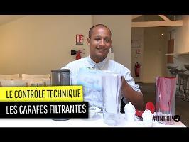 Contrôle technique : les carafes filtrantes