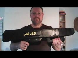 Paper Airplane Machine Gun / Papierflieger-Maschinenpistole