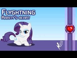 Flyghtning - Rarity's heart