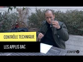 Le contrôle technique : les applications bac