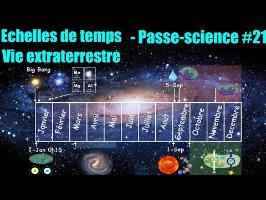 Échelles de temps et vie extraterrestre - Passe-science #21