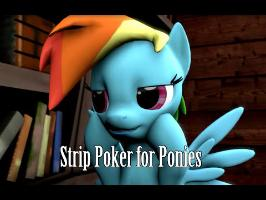 [SFM] Animated Comic Dub: Strip Poker For Ponies