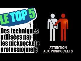 Le top 5 des techniques utilisées par les pickpockets professionnels