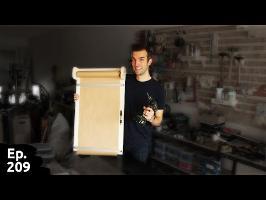 fabrication d'un dévidoir à papier kraft / PaperBoard avec Geoffrey Dorne - Ep209