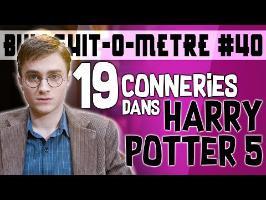 19 CONNERIES DANS HARRY POTTER 5 - BOM #40