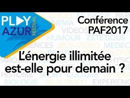 [PAF2017] L'énergie illimitée est-elle pour demain ? - Scilabus