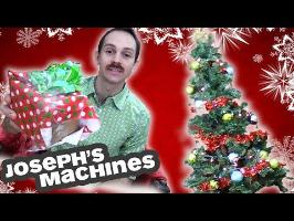 How to Wrap a Gift in 10 Seconds & Decorate a Tree! | Joseph's Machines