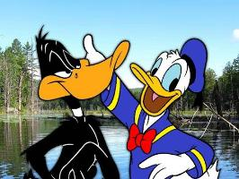 Donald Duck vs Daffy Duck. Epic Rap Battles of Cartoons Season 3.