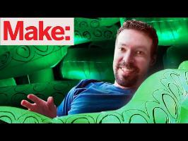 Controlled Chaos with Caleb:How To Make Giant Lawn Tentacles