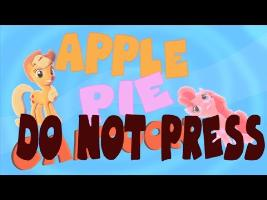 ApplePie Cartoon : Do Not Press