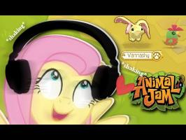 Fluttershy plays Animal Jam ???? | SO MANY WONDERS!