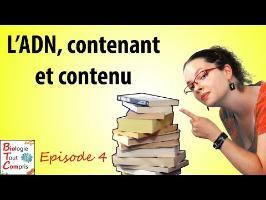 [BioTCom] 04 : l'ADN, contenant et contenu.