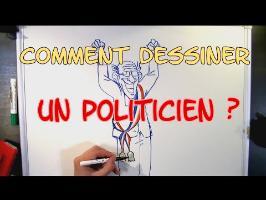 Comment bien dessiner un politicien...