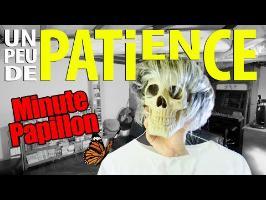 PATIENCE & LONGUEUR DE TEMPS - Minute Papillon