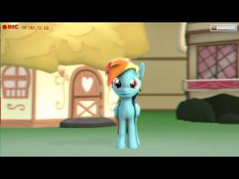 Rainbow Dash does the ALS Ice Bucket Challenge! SFM/MLP