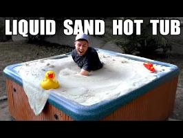 Liquid Sand Hot Tub